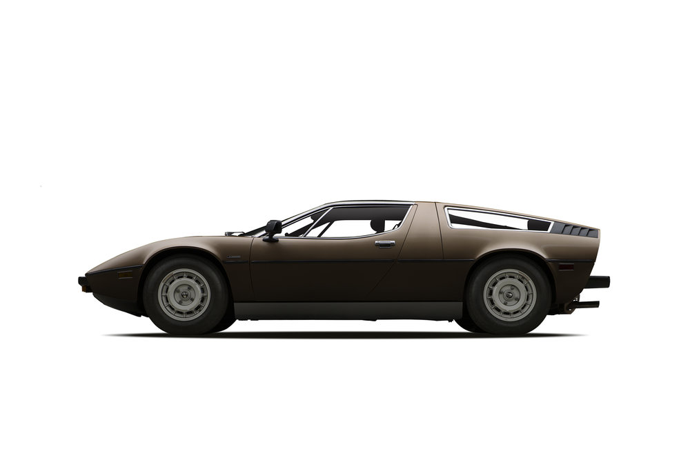 - 1977 Maserati Bora