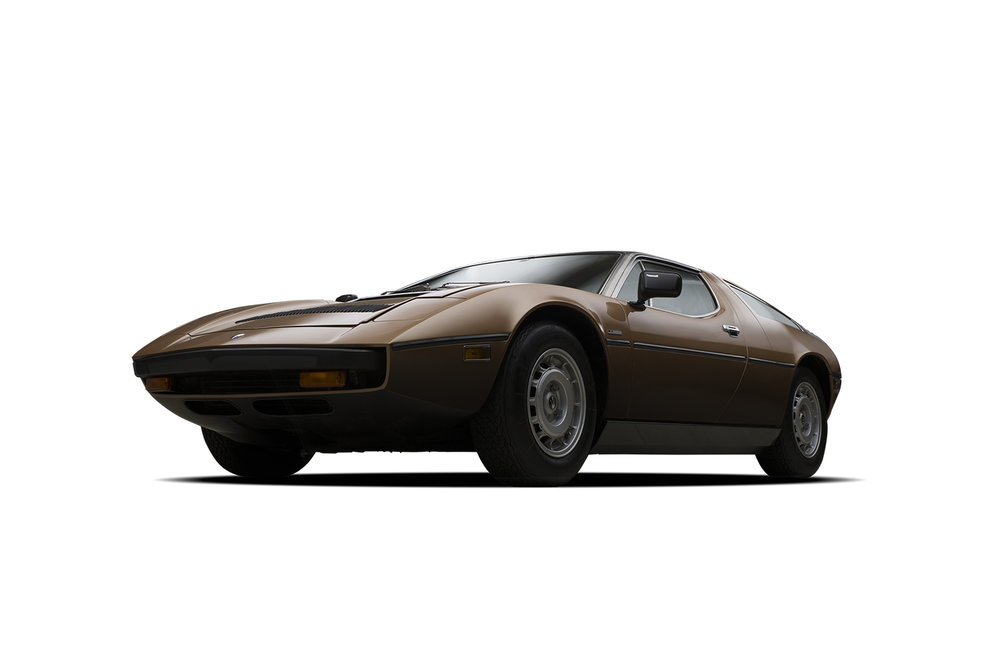- 1977 Maserati Bora - 3 Quarter View