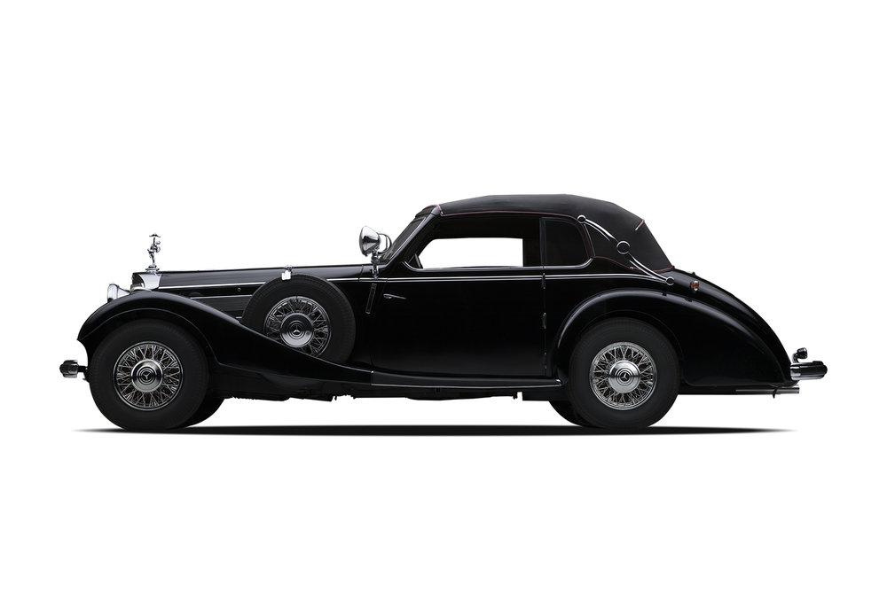 - 1938 Mercedes-Benz 540K Norrmalm Cabriolet
