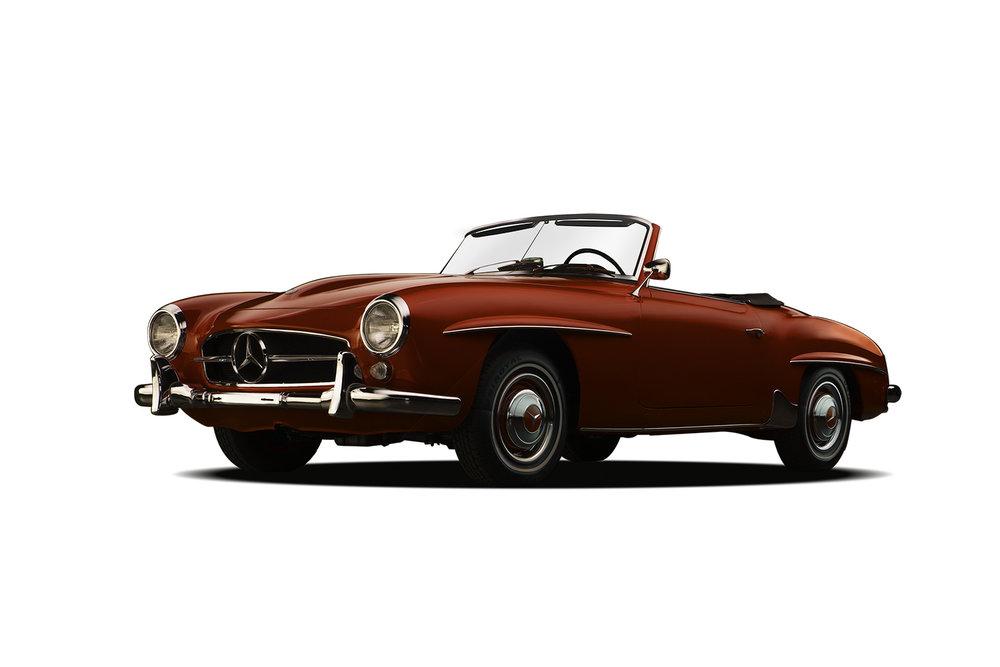 - 1961 Mercedes-Benz 190SL - 3 Quarter View