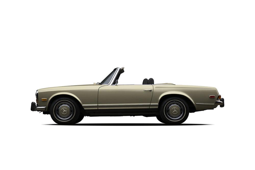 - 1971 Mercedes-Benz 280sl Roadster-Gold