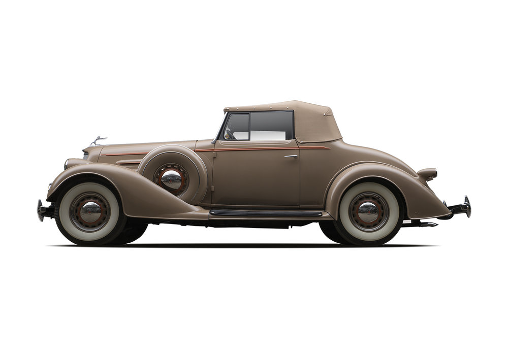 - 1934 Oldsmobile Series L Eight Convertible