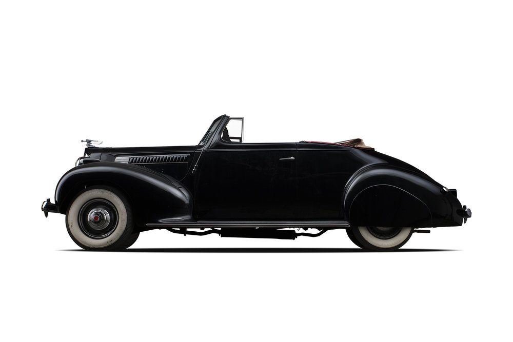 - 1939 Packard Series 1700 Six Convertible Coupe