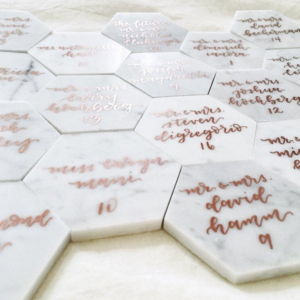 Marble Escort Tiles