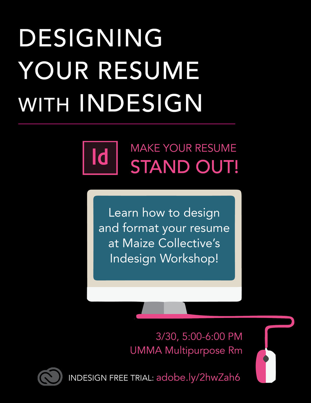 Adobe Workshop - Poster Design for InDesign Workshop