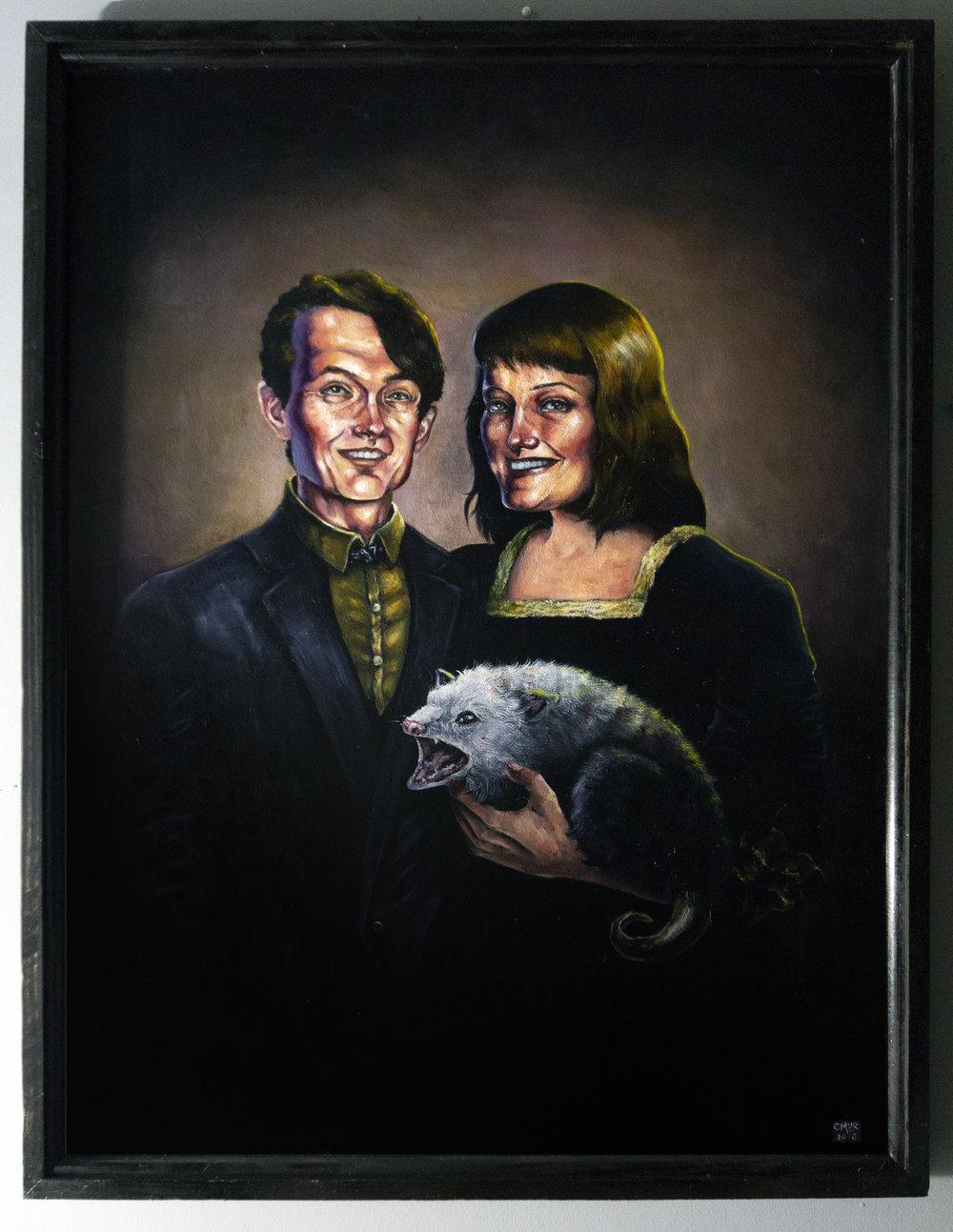 """28x36"""" Portrait"""
