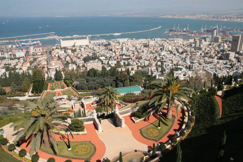 Haifa desde el Monte Carmelo