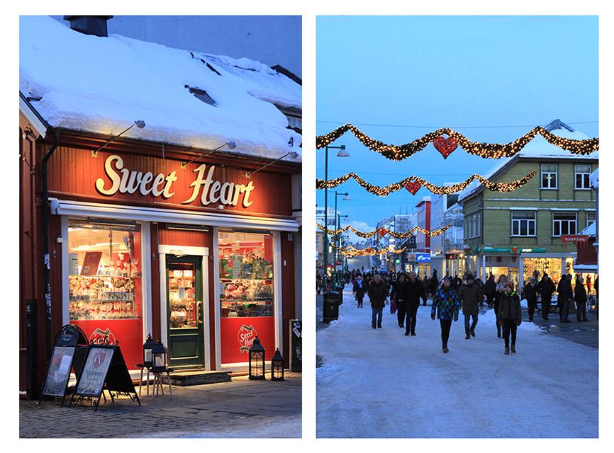 Storgata, calle peatonal principal de Tromsø