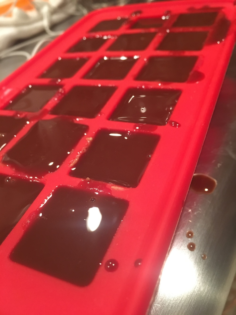 Silicon Ice Cube Tray with All Layers