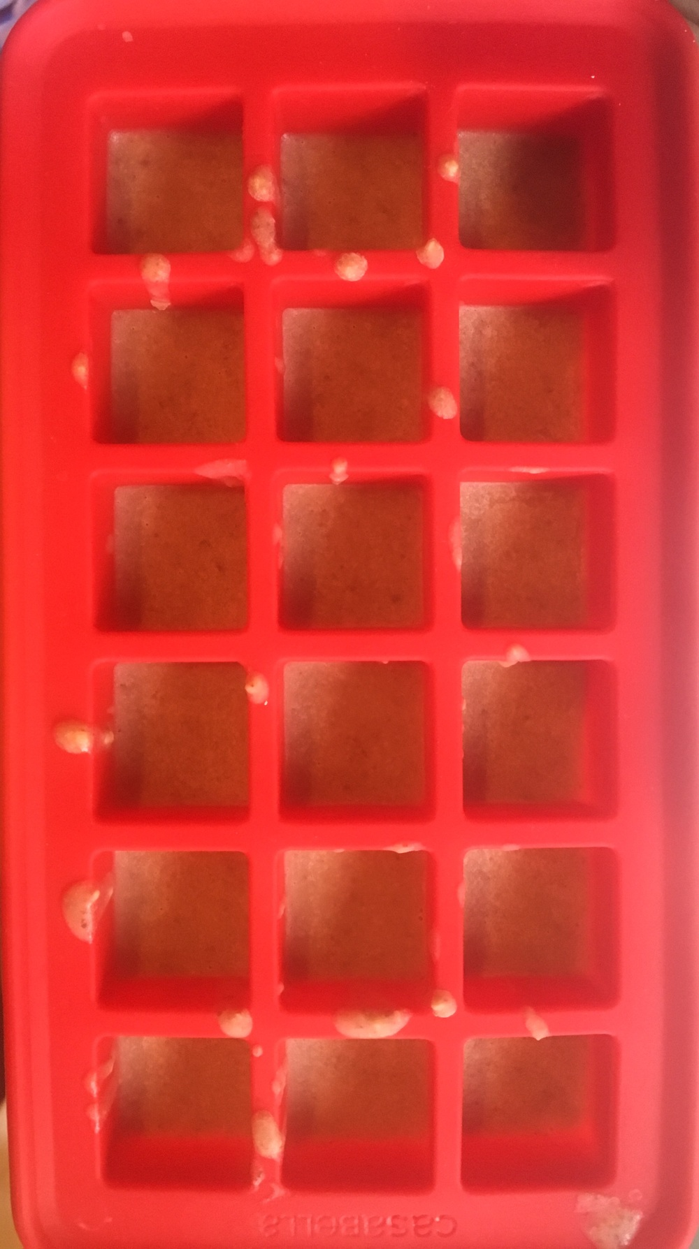 Silicon Ice Cube Tray with Layer 1