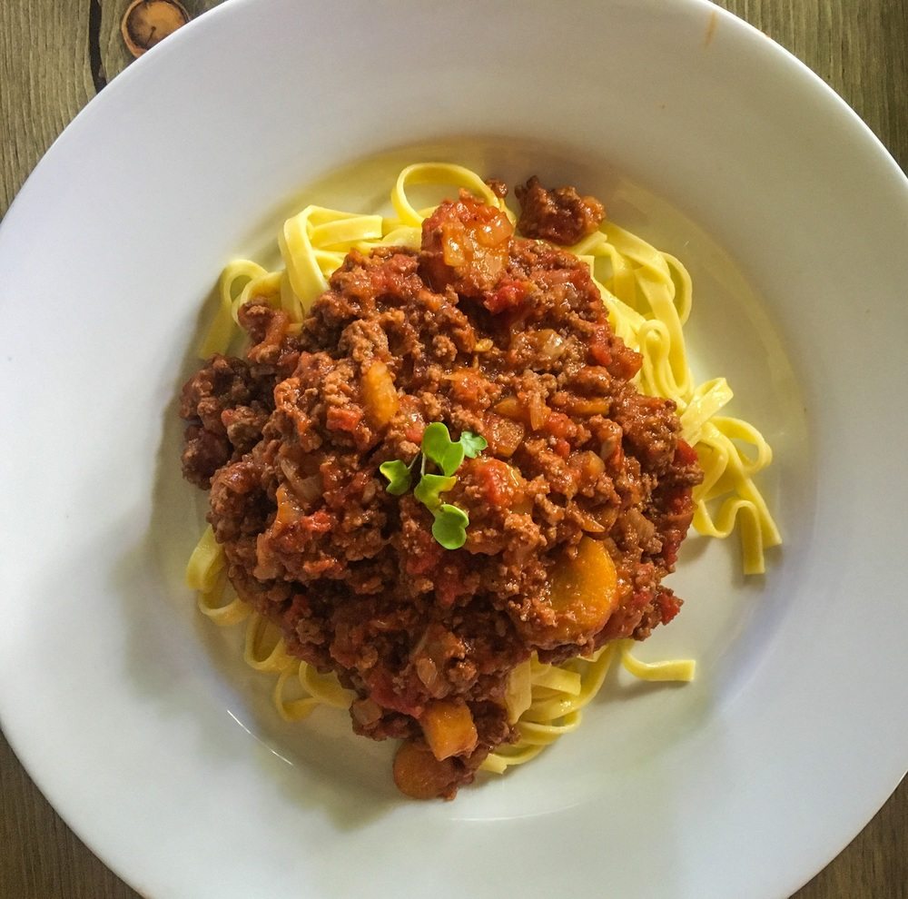 Paleo Bolognese with Beef & Lamb