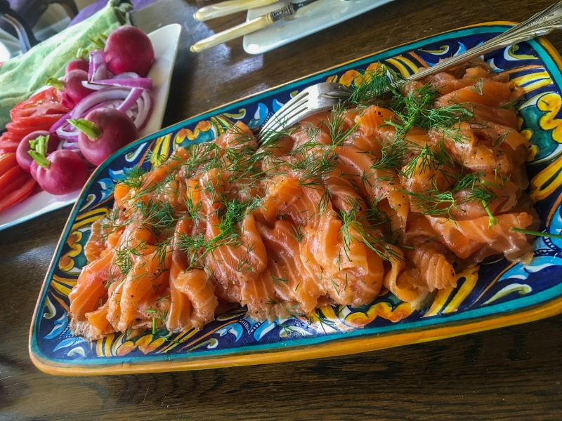 Gravlax and Sides