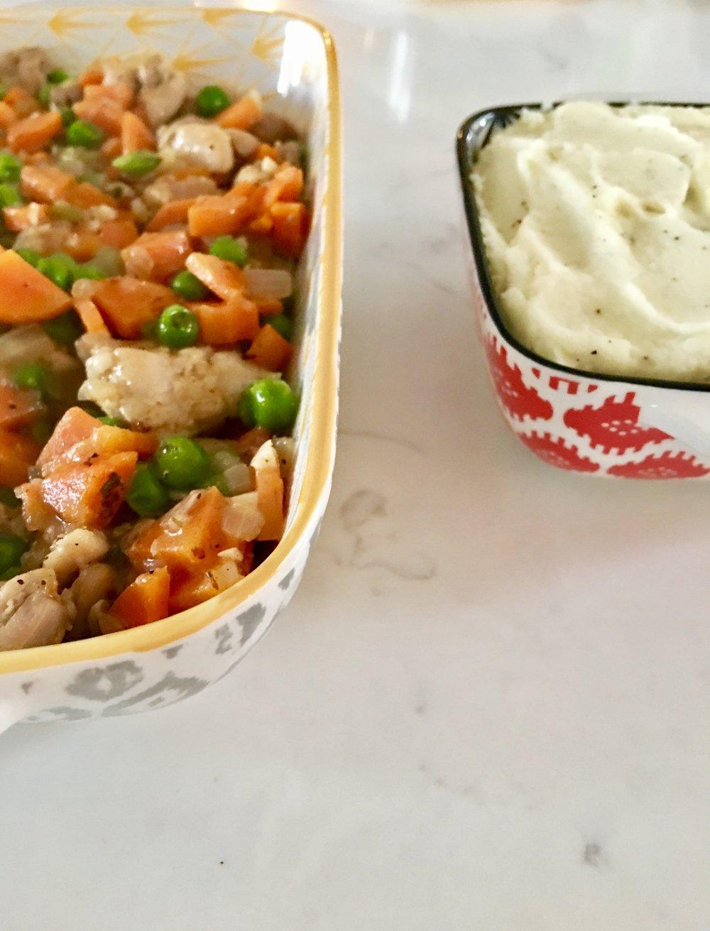 Chicken Pot Pie - with Cauliflower