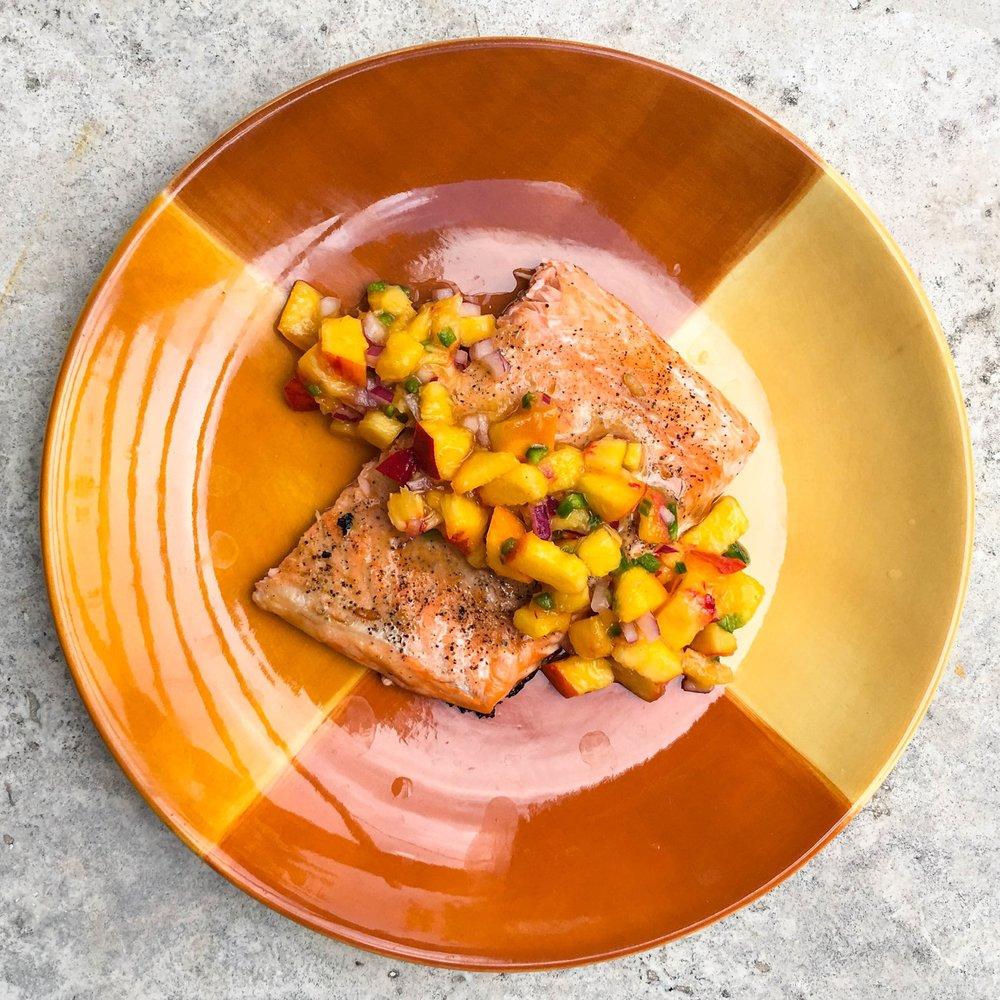 Honey Glazed Salmon with Peach Salsa (1 of 1).jpg