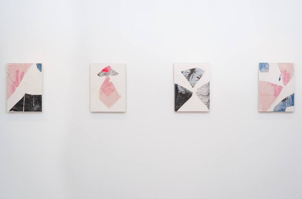 """Installation view """"Do Me a Solid"""" at  goldmine space , Pittsburgh. July-September 2015."""