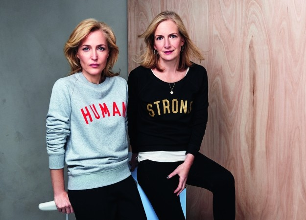 Photo Credit: Max Abadian; Gillian Anderson (left), Jennifer Nadel (right)