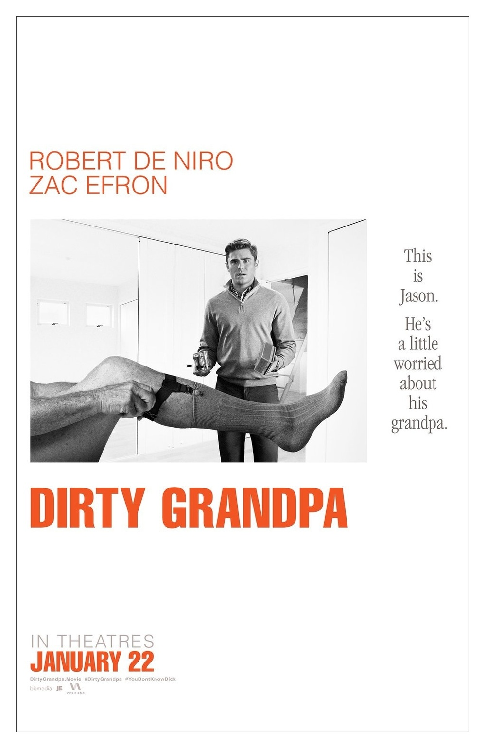 Dirty? Yes. Grandpa? Yes. Comedy? Eh...   Lionsgate Film