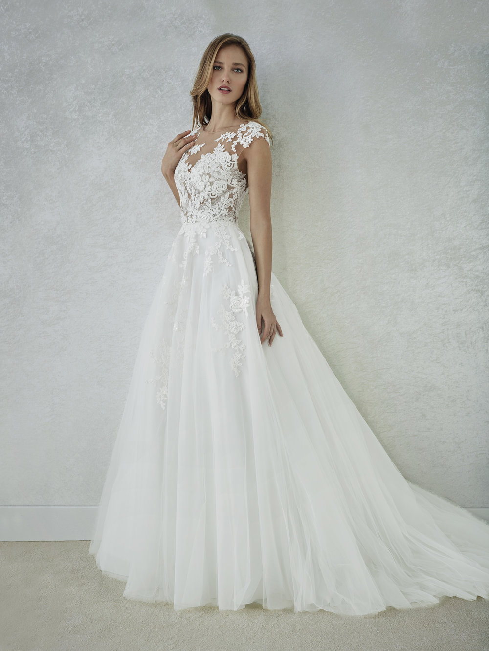 fe199425ae2 White One by Pronovias — Blush Bridal Boutique