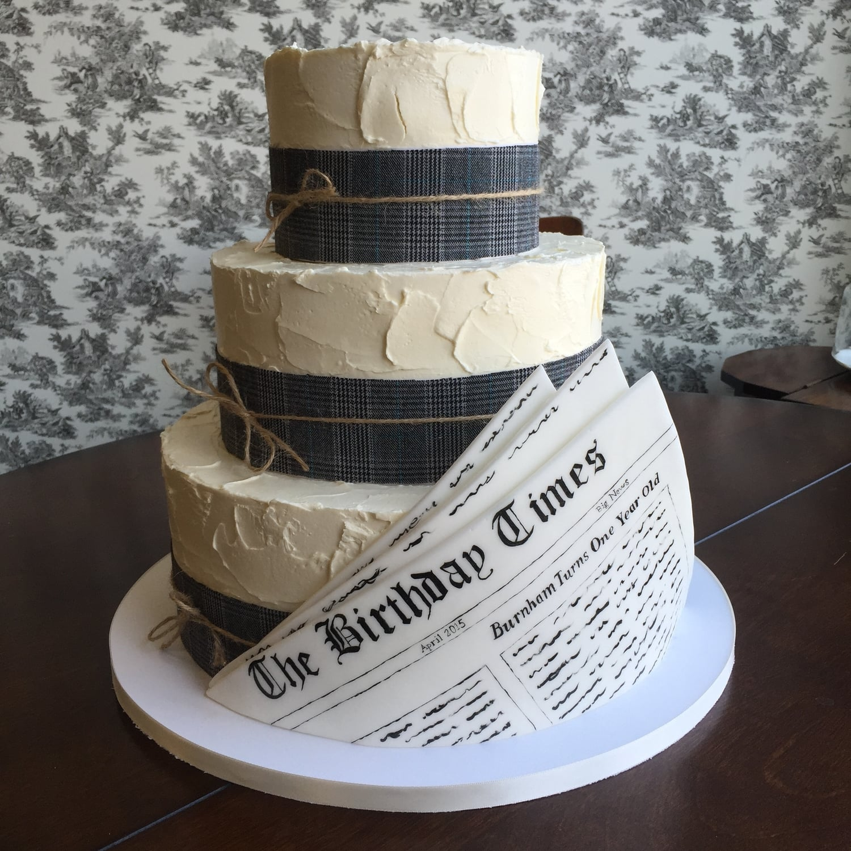 Birthday Cakes Sara Baumer