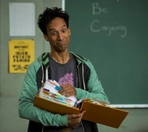 "Community -- ""Introduction to Teaching"" -- Pictured: Danny Pudi as Abed -- (Photo by: Justin Lubin/NBC)"