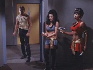 Mirror Mirror Star Trek Uhura Kirk