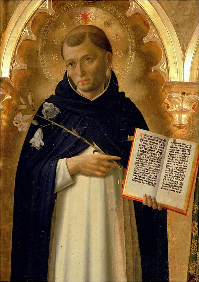 St. Dominic, via  WikiCommons , CC0.