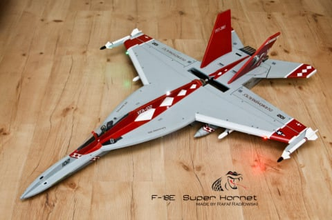 F-18 Plane Plans