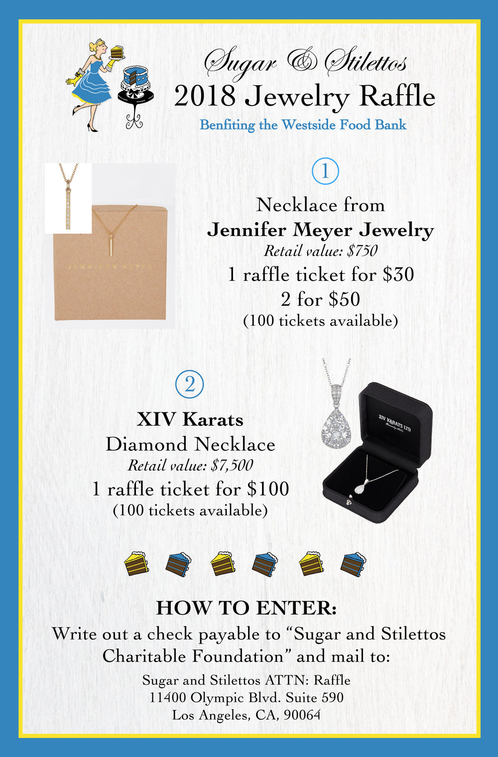 jewelry raffle ticket info 2018 sugar stilettos