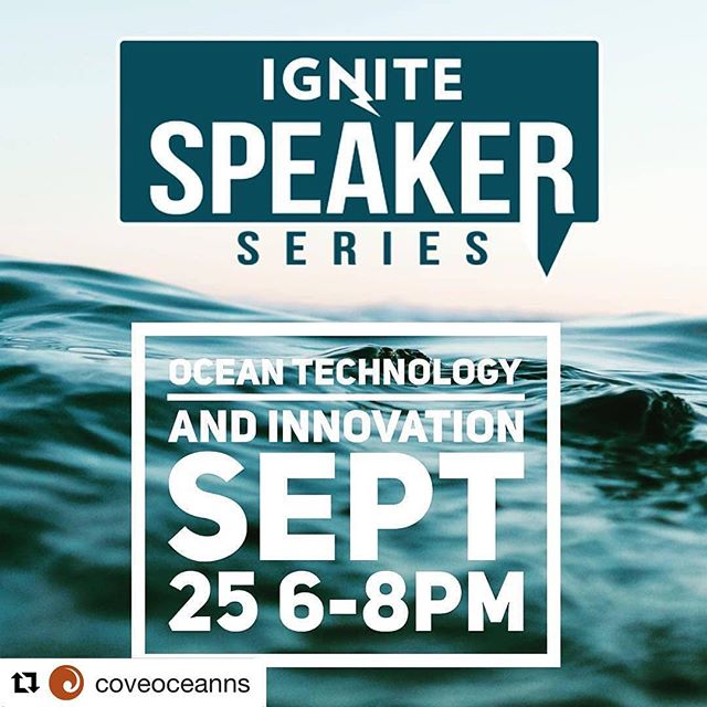 #Repost @coveoceanns ・・・ Join @coveoceanns tenants @mermaidfare and Enginuity, as well as COVE CEO, Jim Hanlon, at @igniteatlantic on Sept 25! ・・・ Join us for an awesome speaker series featuring Ocean Tech speakers @coveoceanns Enginuity and @mermaidfare talking about innovation in the ocean sector. Don't miss this great event. Sign up now to secure your spot. Link in bio #oceantech #southwestnova #ignitespeakerseries @igniteatlantic