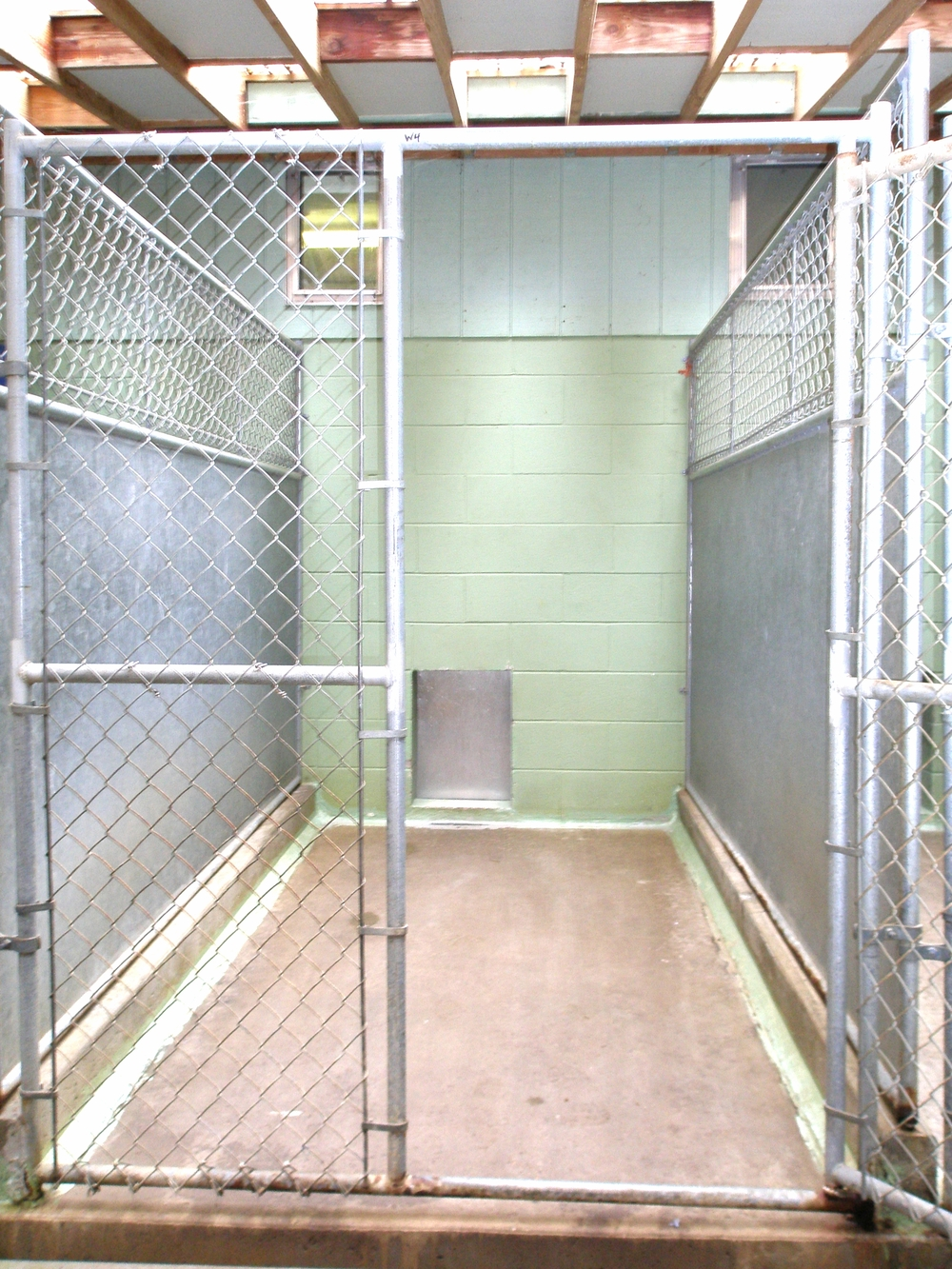 Kennel outside