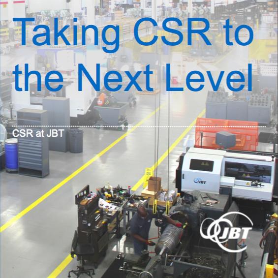 CSR at JBT