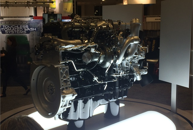 Navistar's new A26 diesel engine, unveiled at TMC in Nashville, is the product of a radically new approach to engine design by the company.