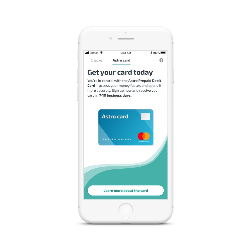 mobile check cashing - Mobile Check Deposit Prepaid Card