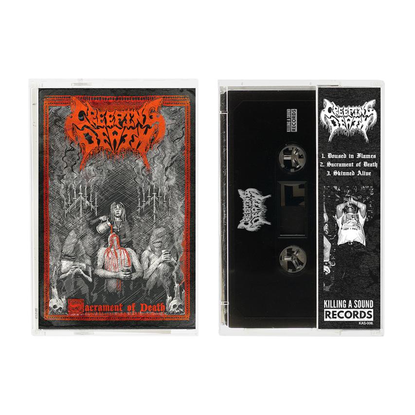 KSR006   CREEPING DEATH / SACRAMENT OF DEATH
