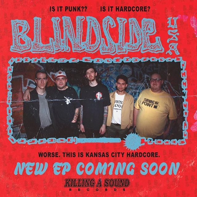 Very excited to announce a new #BlindsideUSA EP coming this summer.  Check out the first song off the EP, link in bio.