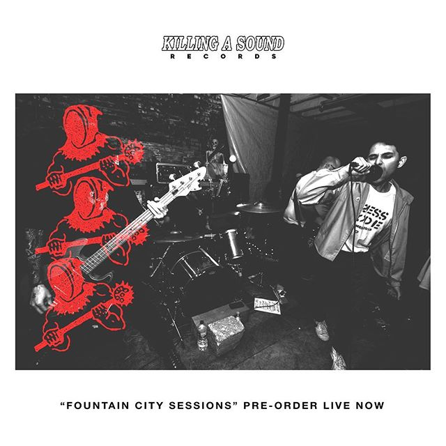 "Pick up some exclusive merch with your pre order of ""FOUNTAIN CITY SESSIONS"". Link in bio."