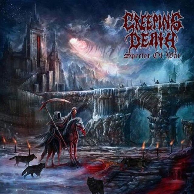 Killing A Sound winter drop 1 - SPECTER OF WAR by CREEPING DEATH