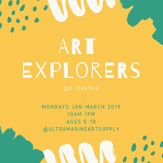 Art Explorers is a weekly 3 hour immersion for young artists focused on nurturing creativity and building artistic confidence. Experimentation with a variety of mediums and techniques is encouraged through a process-based approach to making. We will explore the elements of art and art history. . . Throughout our ongoing class we will explore: . . •7 elements of art and how they correspond to our creations •Many different mediums and styles from water-colour to clay •Nature based projects •Artist studies through story and projects •A combination of Passion Projects (you choose) and Led skilled-based projects (we choose) •Freedom to explore through a process-based approach •Encouraging mindfulness through making . . For children aged 5-10yrs $45 classes run Mondays Jan 14th through to March 11th 2019 Monthly commitment recommended- spaces are limited!