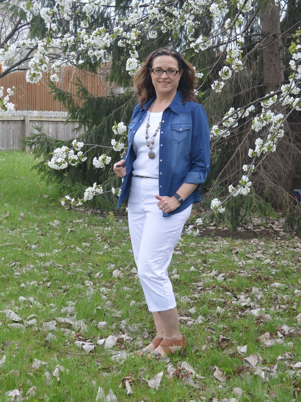 Beautiful Blogger Bests - Denim with white outfit