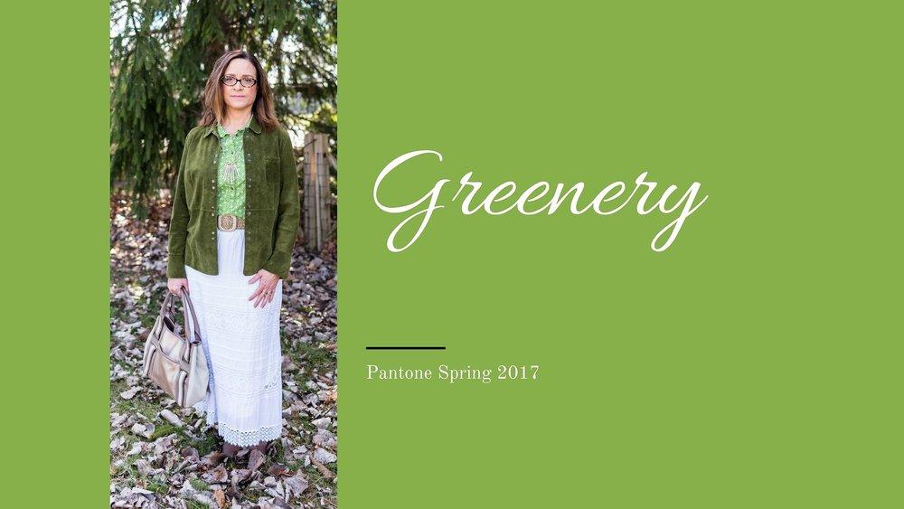 Pantone Spring 2017 - Greenery