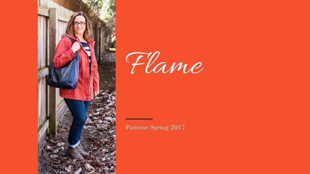 Pantone Spring 2017 - Flame