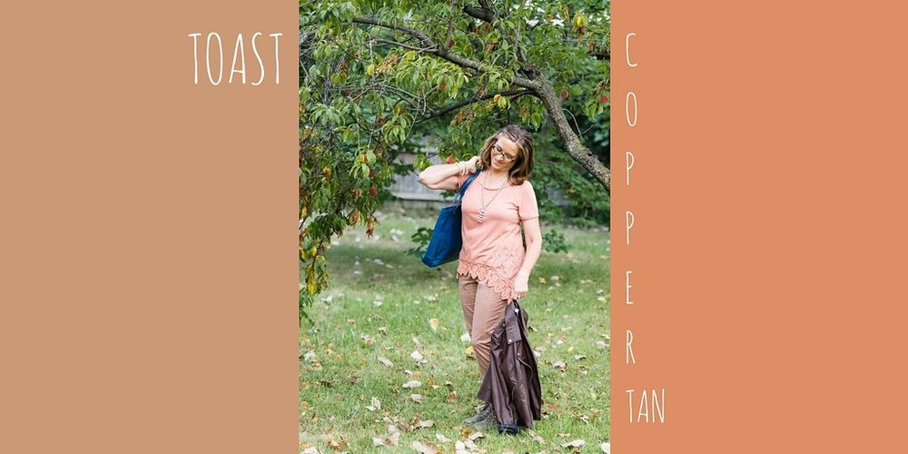 Pantone Fall 2017 - Toast and Copper Tan