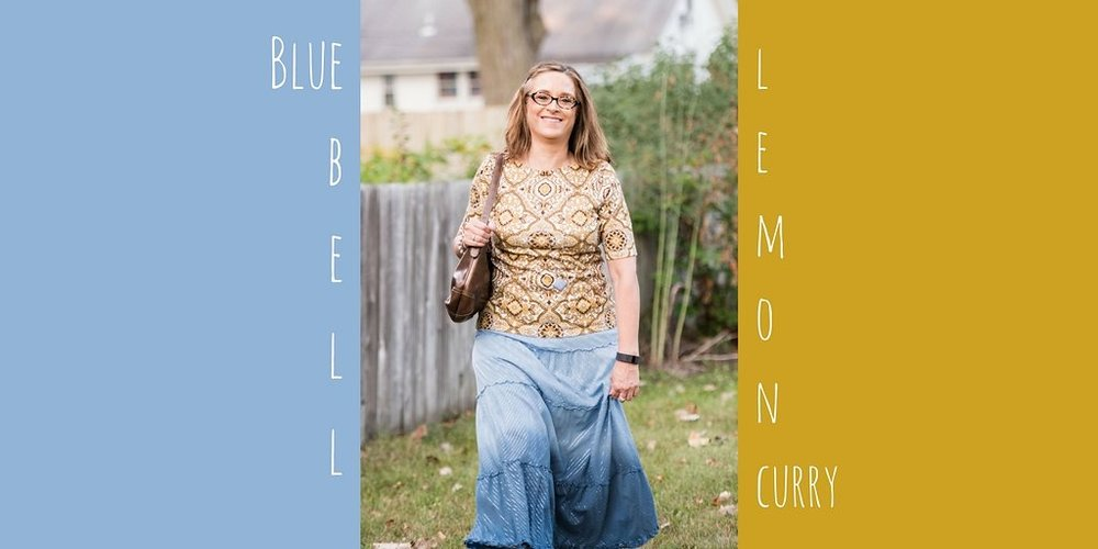Pantone Fall 2017 - London Palette - Blue Bell and Lemon Curry
