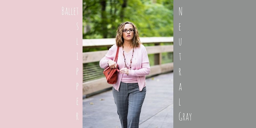 Pantone Fall 2017 - NY Palette - Ballet Slipper and Neutral Gray
