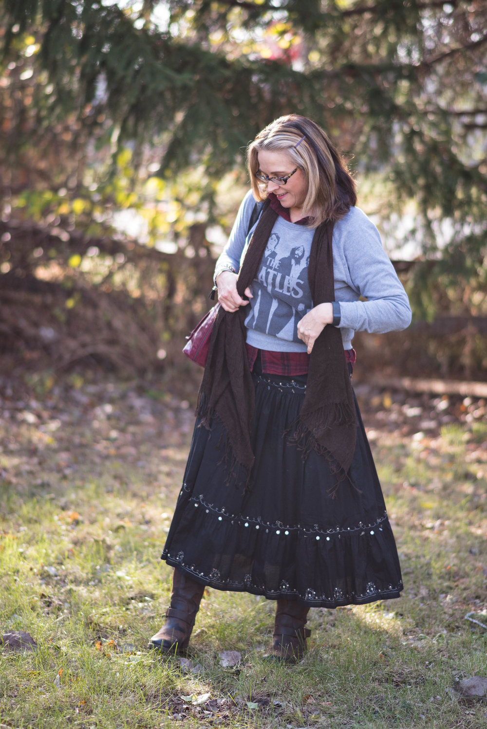 Layering love - light weight skirt