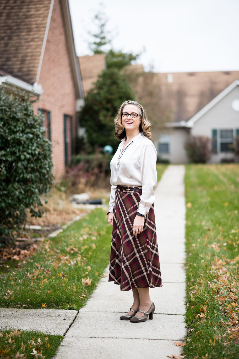 Holiday outfit - dressy casual - skirt