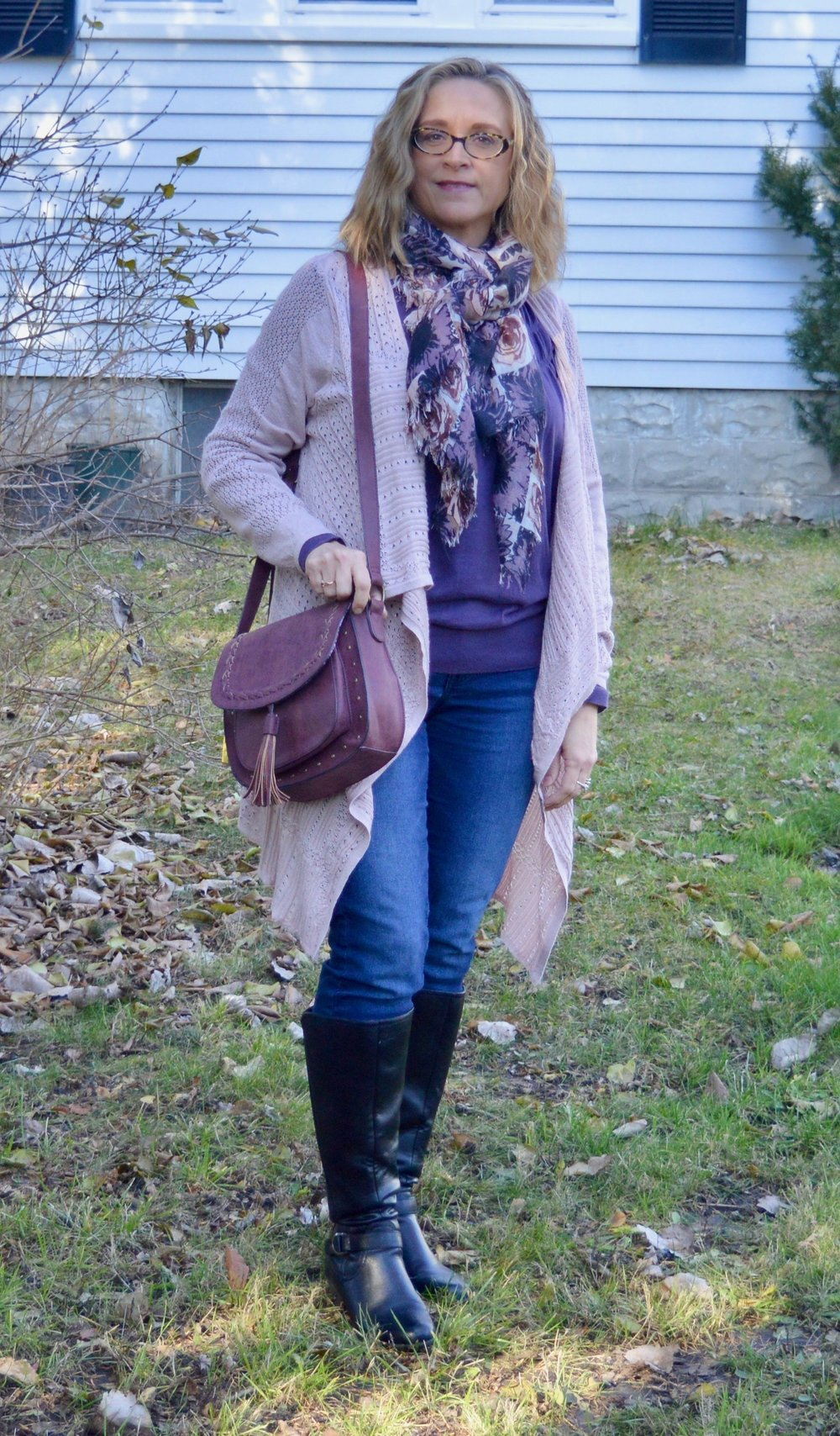 Layering Love - adding a scarf