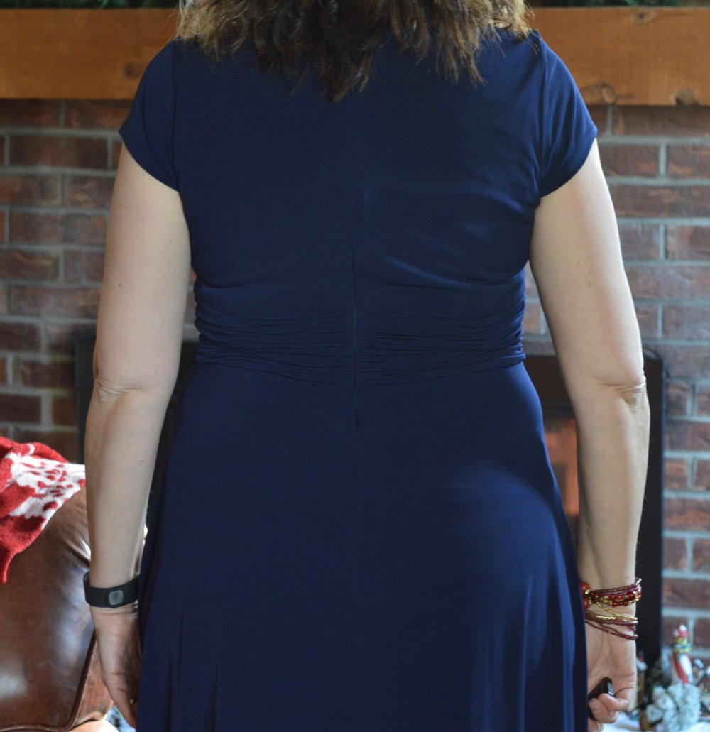 Working undercover - ruched waist