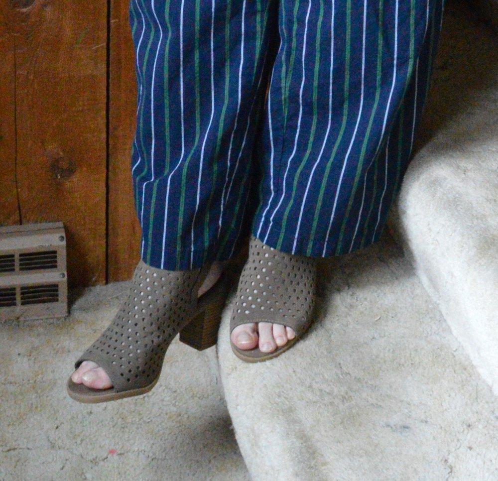 Pajama pant outfit