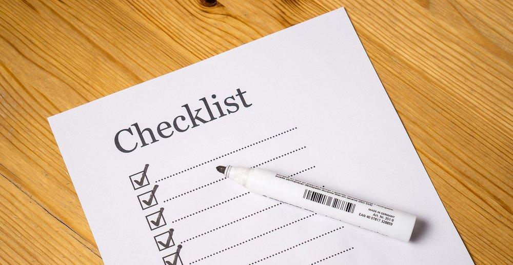 Pixabay - checklist